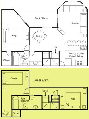 Admirals Loft Suite