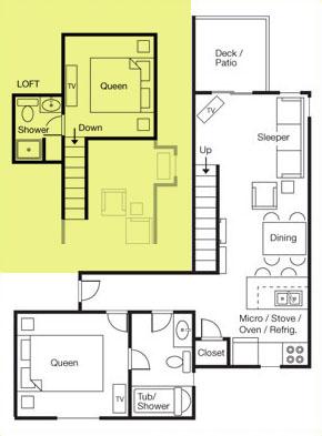 Captains Loft Suite