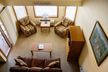 Egg Harbor Admirals Loft Suite at The Landing Resort